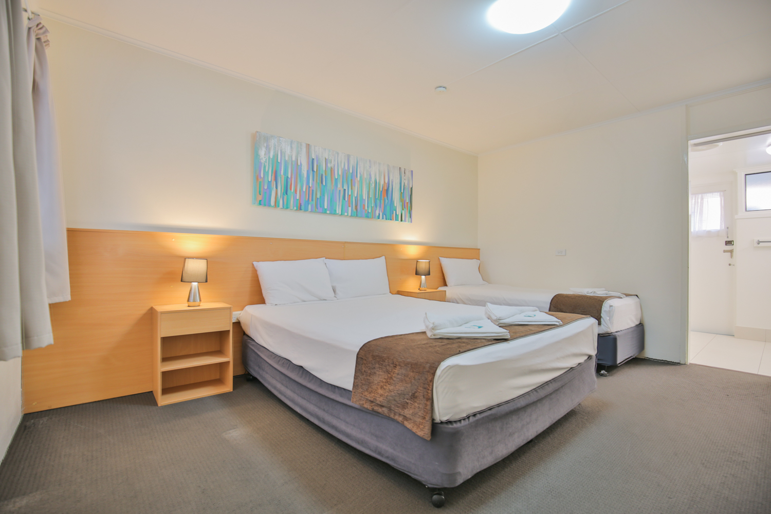 Deluxe Twin/Family Room at Oscar Motel Bundaberg