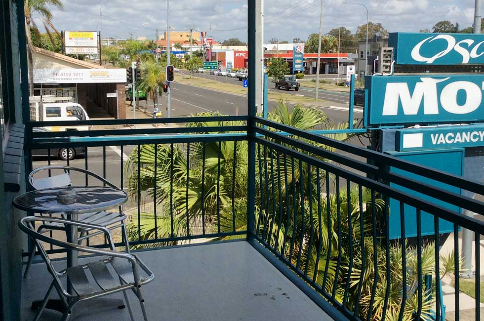 Oscar Motel is conveniently located on Bourbong Street in Bundaberg.